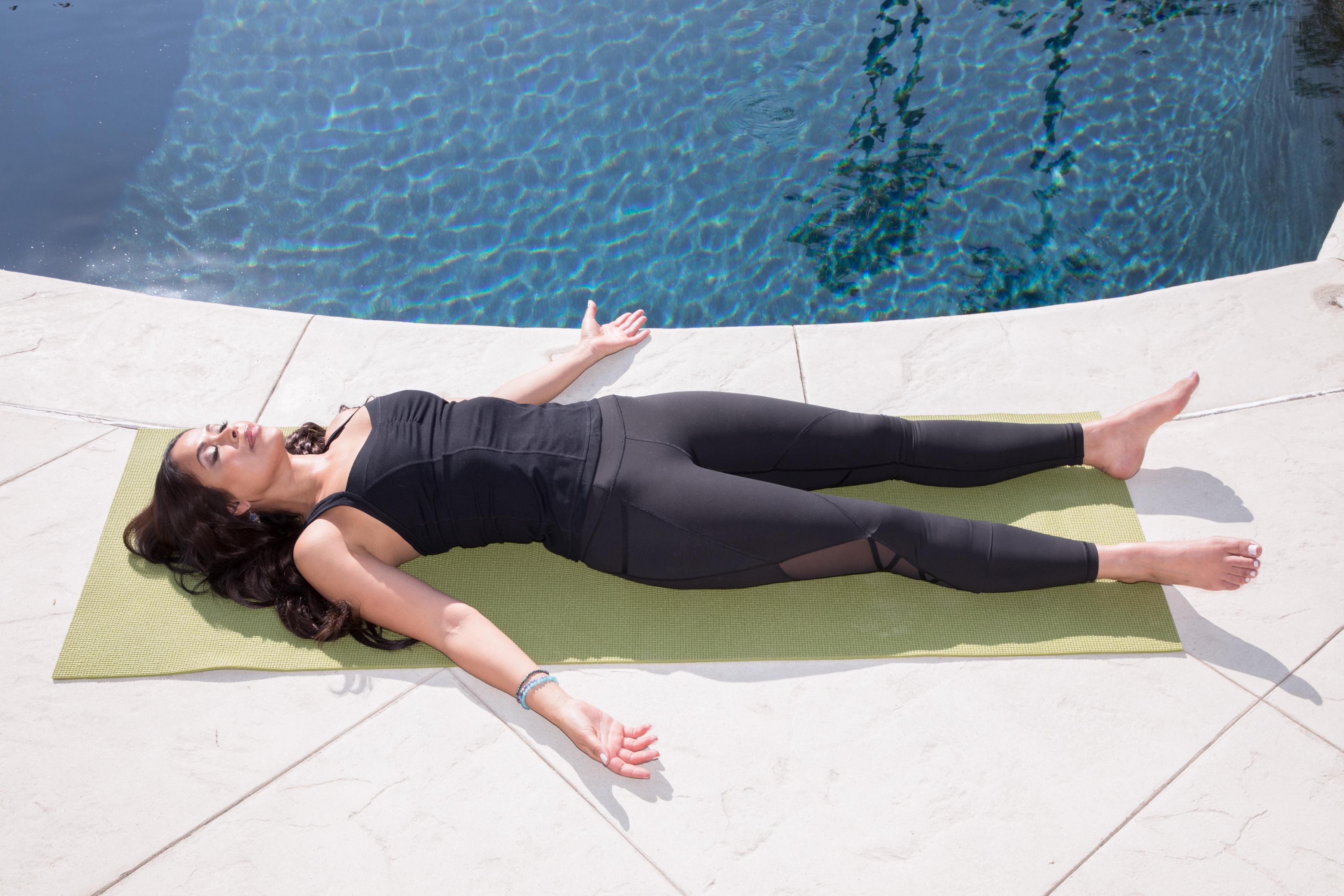corpse pose savasana yoga for calm and relaxation alrightnow
