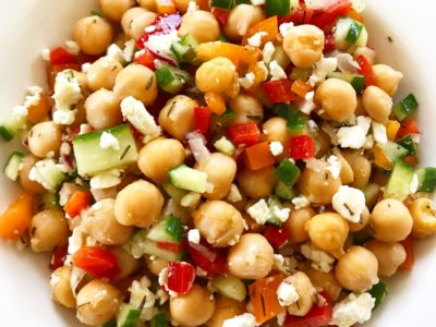 Hearty Chickpea Salad Pic